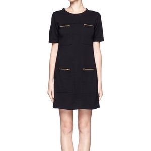 JCREW 4 zip pocket dress - size 4